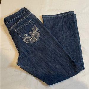 Chico's Platinum Women's Blue Jeans Size 1.5